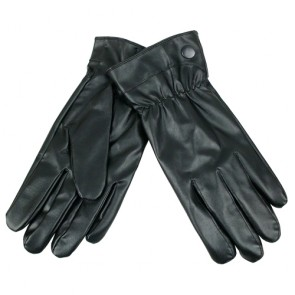 Custom Unisex Winter Warm Simple Leather Gloves