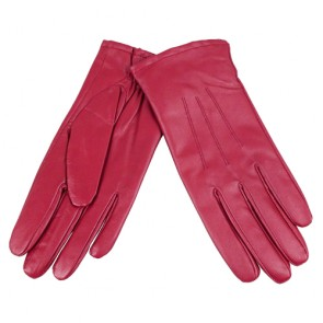 Classic Women's Genuine Leather Warm Lined  Gloves